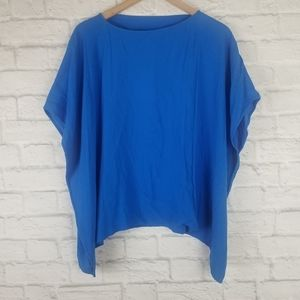 Diane von Furstenberg|NWT The Hanky Top in Blue